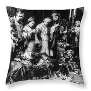 China: Ceremony, C1919 Throw Pillow