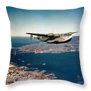 China Clipper 2 Throw Pillow
