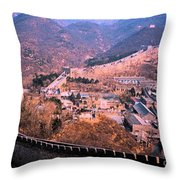 China Great Wall Adventure By Jrr Throw Pillow