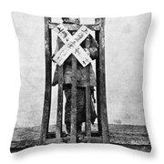 China Punishment, C1870 Throw Pillow