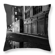 Chinatown New York City - Forsythe Street Throw Pillow