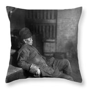 Chinatown Opium, C1896 Throw Pillow