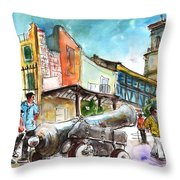 Chinchilla De Monte Aragon 03 Throw Pillow