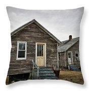 Chincoteague Shanty Throw Pillow