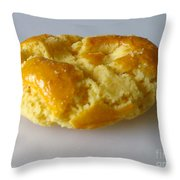 Chinese Almond Cookie Throw Pillow
