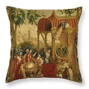 Chinese Astronomers, C.1697 Throw Pillow