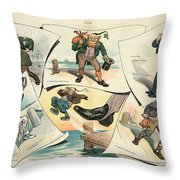 Chinese Exclusion Act, 1905 Throw Pillow