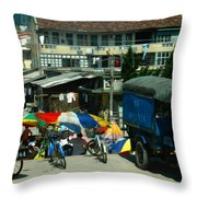 Chinese Experience Throw Pillow
