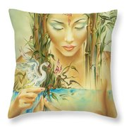 Chinese Fairytale Throw Pillow