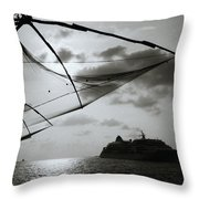 Approaching Cochin Throw Pillow