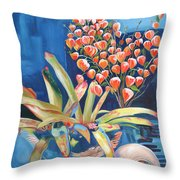 Chinese Lanterns Form My Heart Throw Pillow