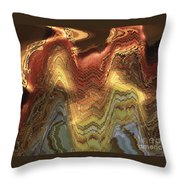 Chinese Opera Abstract Throw Pillow