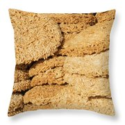 Chinese Rice Cakes Throw Pillow