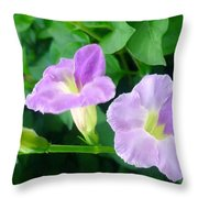 Chinese Violet  1 Throw Pillow