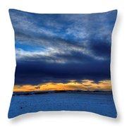 Chinook And The Prairie Bear Throw Pillow