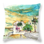 Chipiona Spain 04 Throw Pillow