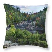 Chippewa River Ontario Canada Throw Pillow