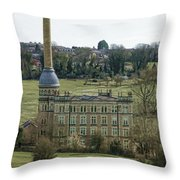 Chipping Norton Mill  Throw Pillow