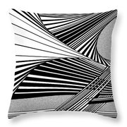 Chivalrous Chives Throw Pillow