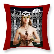 Chloe Ardent Protector Throw Pillow