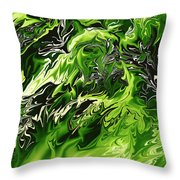 Chlorophylle Throw Pillow