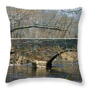 Choate Bridge Ipswich Ma Throw Pillow