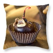 Chocolate Covered Throw Pillow