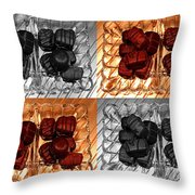 Chocolates Throw Pillow by Barbara Griffin