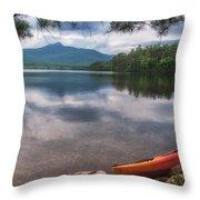 Chocorua Lake Throw Pillow