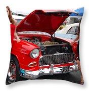 Choice Chevy Throw Pillow