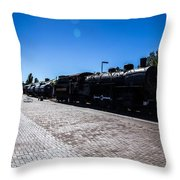Choo Choo 3 Throw Pillow