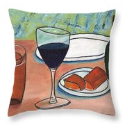 Chop House Throw Pillow