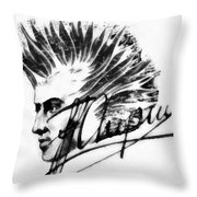 Chopin 2 Throw Pillow