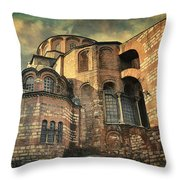 Chora Church Throw Pillow by Taylan Apukovska