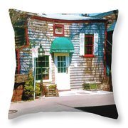 Chowder House Rockport Ma Throw Pillow