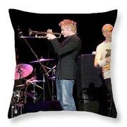 Chris Botti Throw Pillow