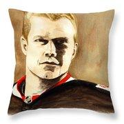 Chris Neil Throw Pillow