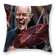 Chris Slade Throw Pillow
