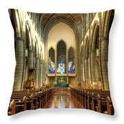 Christ Church Cathedral Victoria British Columbia Throw Pillow