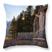 Christ Of The Mines Throw Pillow