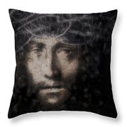 Christ Suffering Throw Pillow