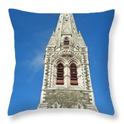 Christchurch Cathedral Throw Pillow