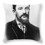 Christian R Throw Pillow