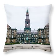Christiansborg Slot Throw Pillow