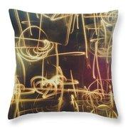 Christmas Abstract V Throw Pillow