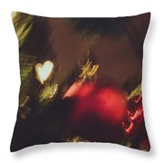 Christmas Abstract Vii Throw Pillow