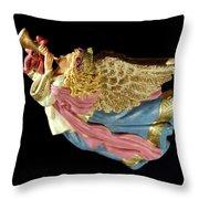 Christmas Angel Throw Pillow