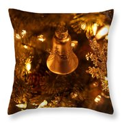 Christmas Bell Throw Pillow