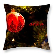 Christmas Best Throw Pillow