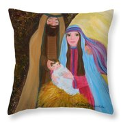 Christmas Blessing Throw Pillow